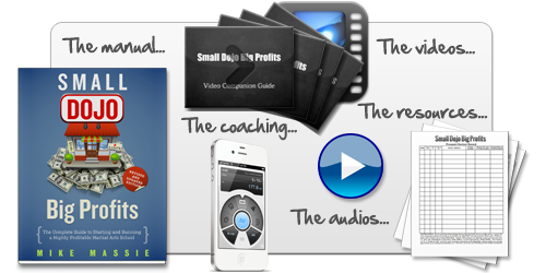 Small dojo big profits martial arts business success done right order the complete package including the revised and updated manual the resources and sample documents the audio version of the book the video companion fandeluxe Choice Image